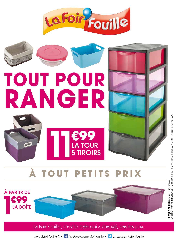 Catalogue La Foir Fouille Tout Pour Ranger By Joe Monroe Issuu