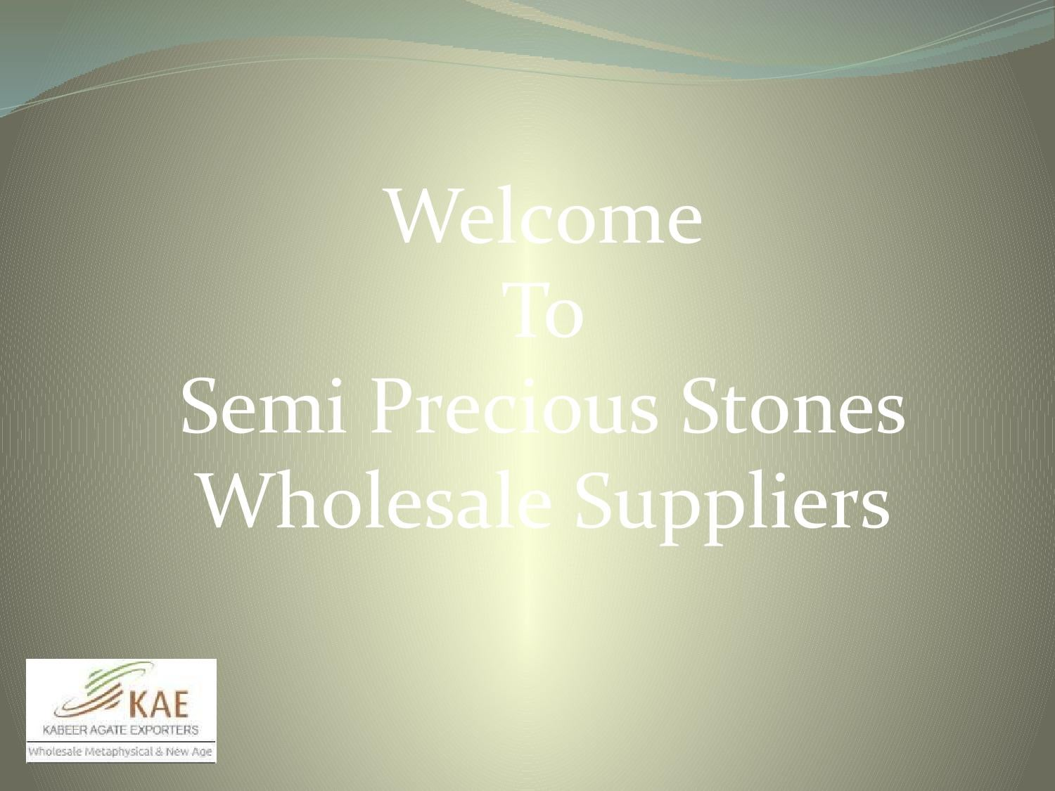 Semi Precious And Gemstones Beads By Agate Exporters Issuu