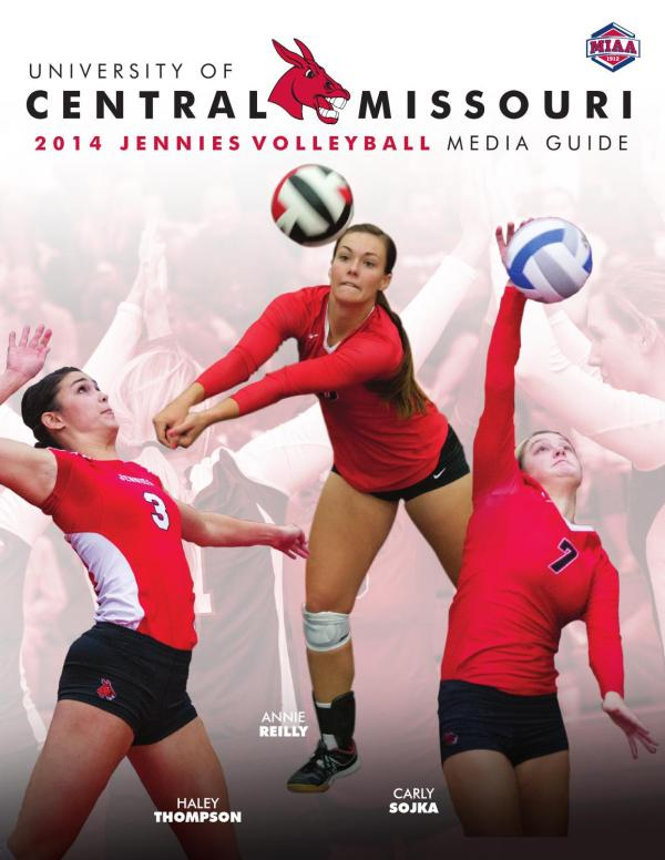 2014 Central Missouri Jennies Volleyball Media Guide by ...