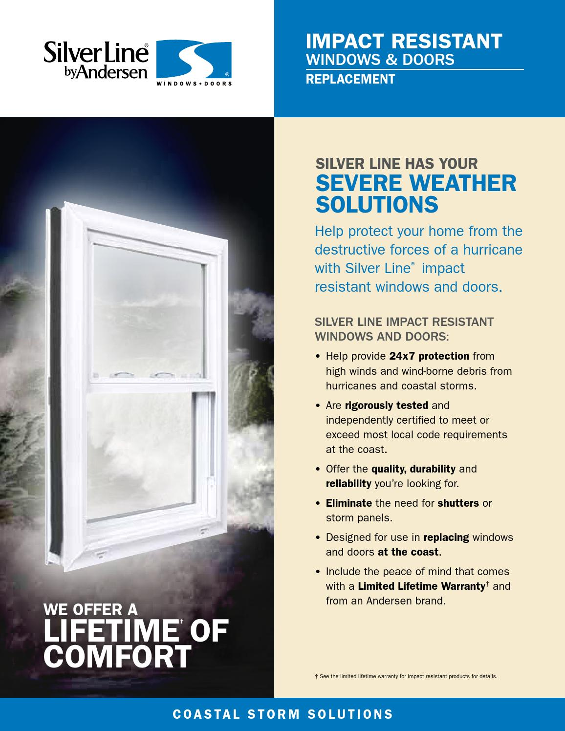 silver line impact resistant windows