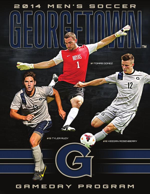 2014 Georgetown Men's Soccer Gameday Program by Georgetown ...