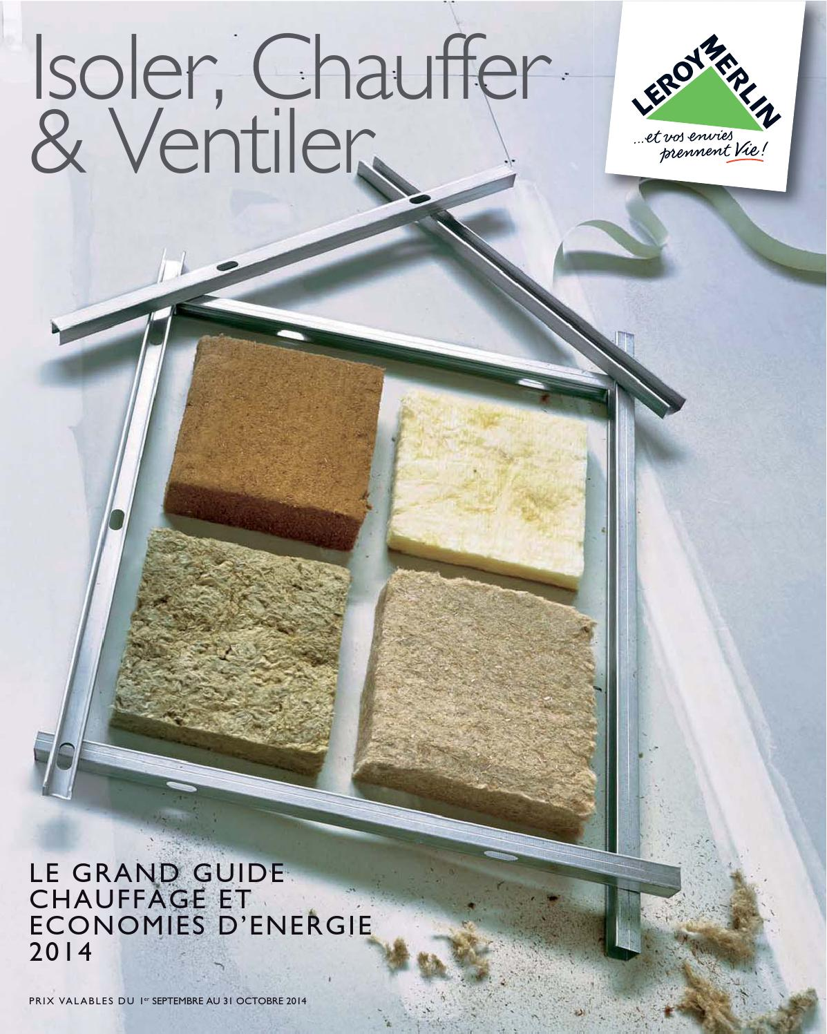 Leroymerlin Catalogue 1septembre 31octobre2014 By Promocatalogues Com Issuu