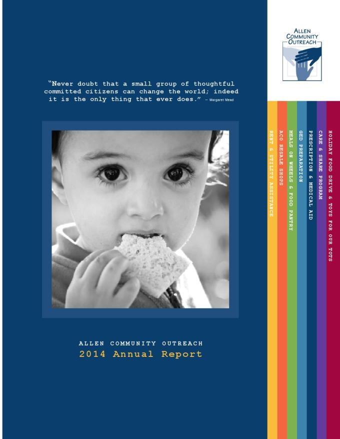 Annual Report 2014 By Allen Community Outreach Issuu