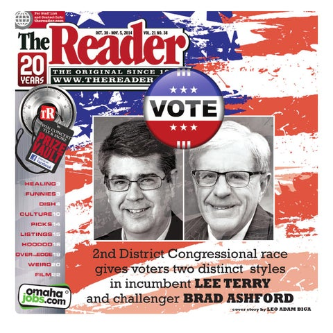 The Reader Oct. 30 - Nov. 5, 2014