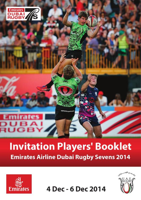 Emirates Airline Dubai Rugby Sevens Players Booklet 2014 ...
