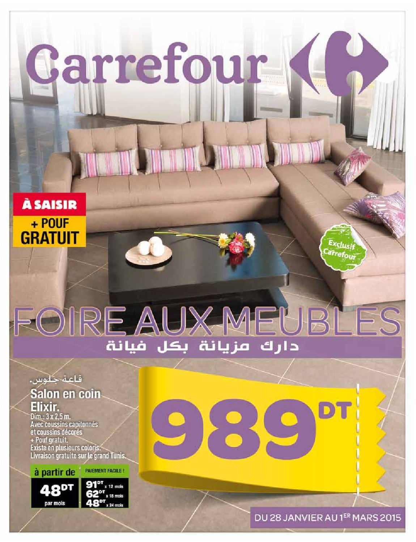 catalogue carrefour foire aux meubles