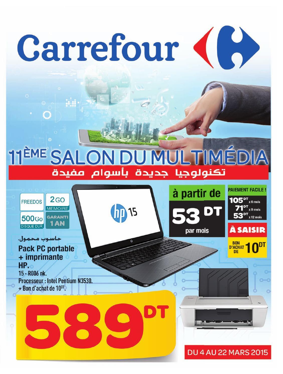 catalogue carrefour salon informatique