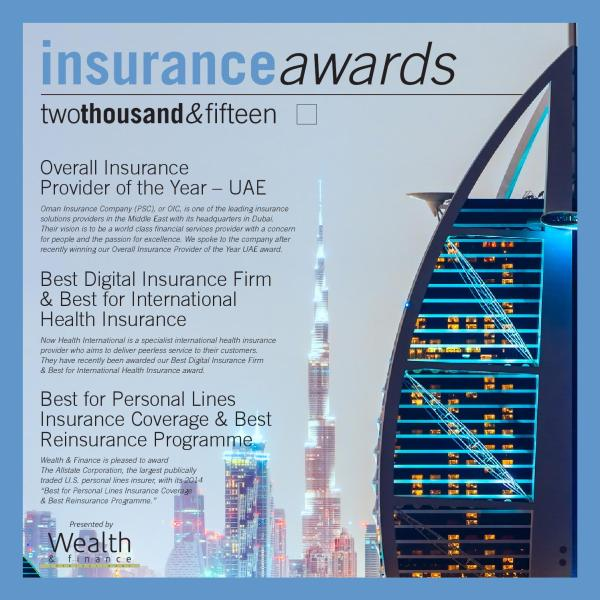 Wealth & Finance - Insurance Awards 2015 by AI Global ...