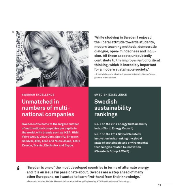 Study in Sweden — complete guide by Swedish Institute - Issuu