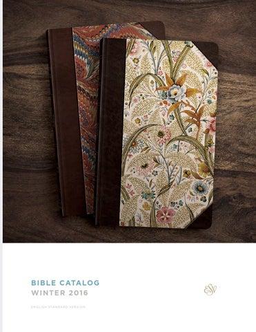 ESV Winter 2016 Bible Catalog By Crossway Issuu