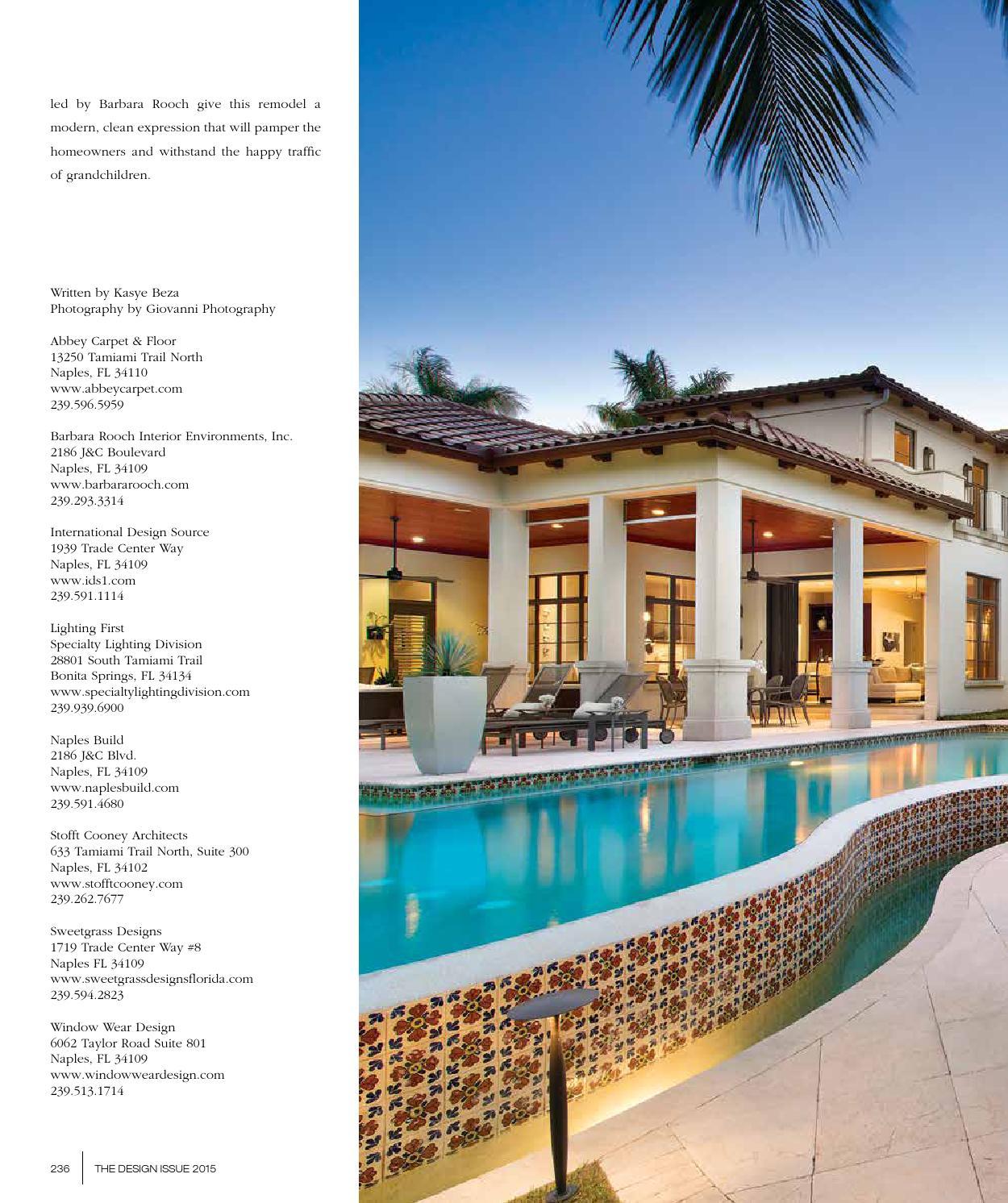 home design magazine design issue 2015 southwest florida edition by jennifer evans issuu
