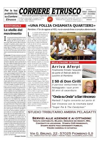 Corriere Etrusco n. 109