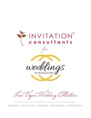 Weddings By Mandalay Bay Wedding Invitation Collection