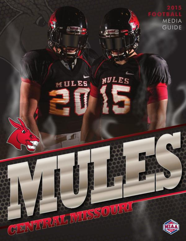 2015 Central Missouri Mules Football Media Guide by UCM ...