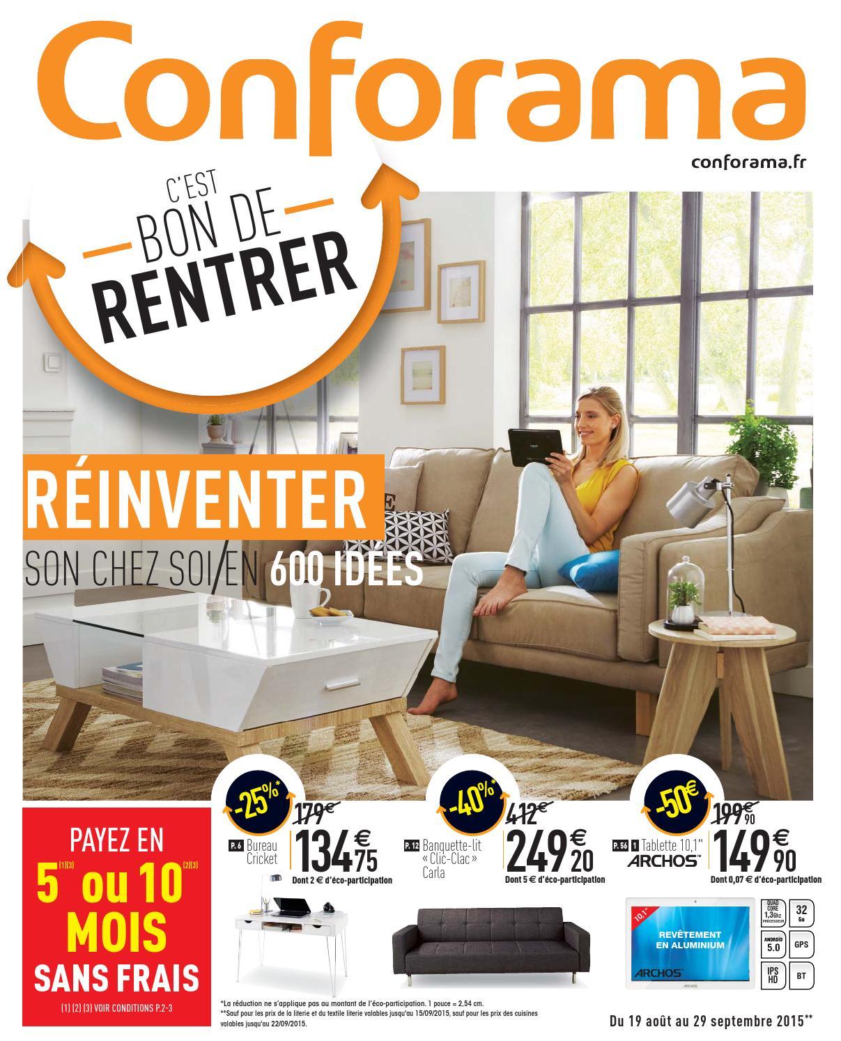conforama catalogue 19aout