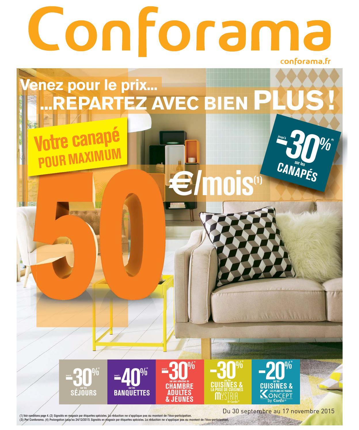 conforama catalogue 30septembre