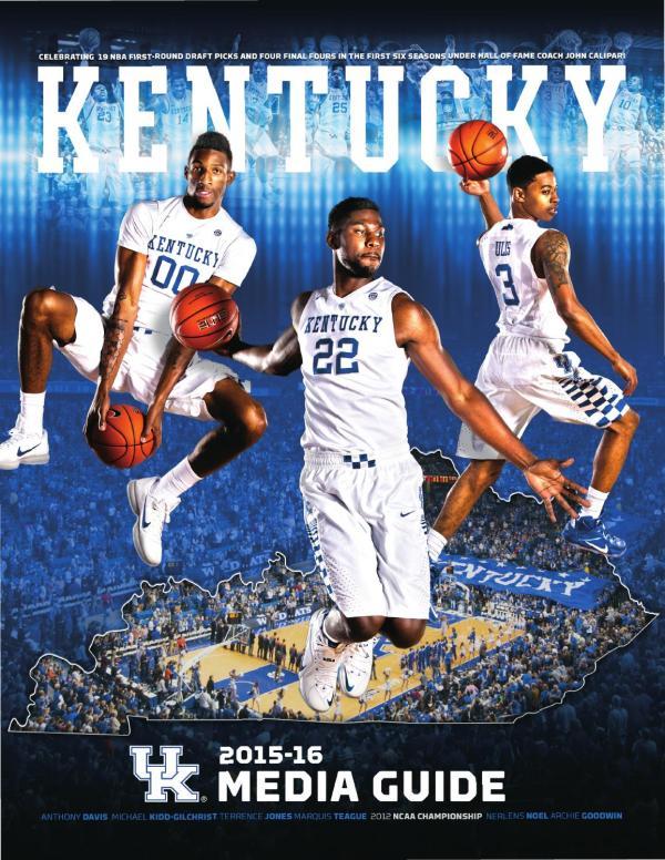 2015-16 Kentucky Men's Basketball Media Guide by ...
