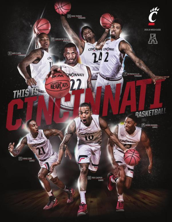 2015 16 Cincinnati Men's Basketball Media Guide by ...