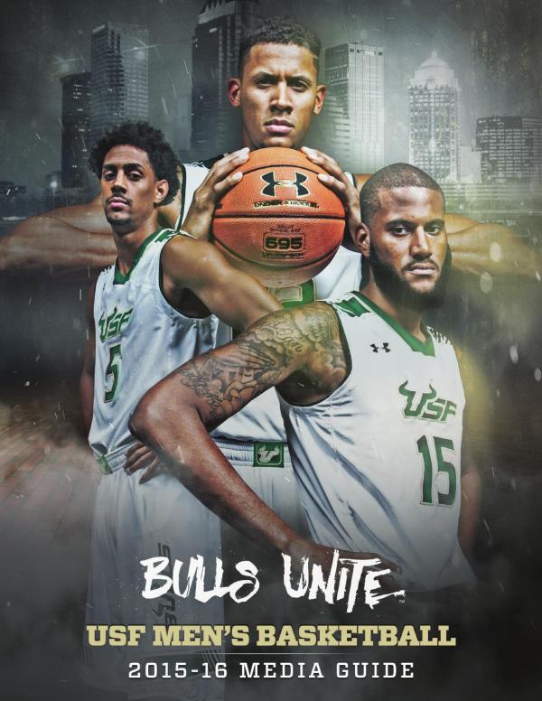 2015-16 USF Men's Basketball Media Guide by USF Bulls - issuu