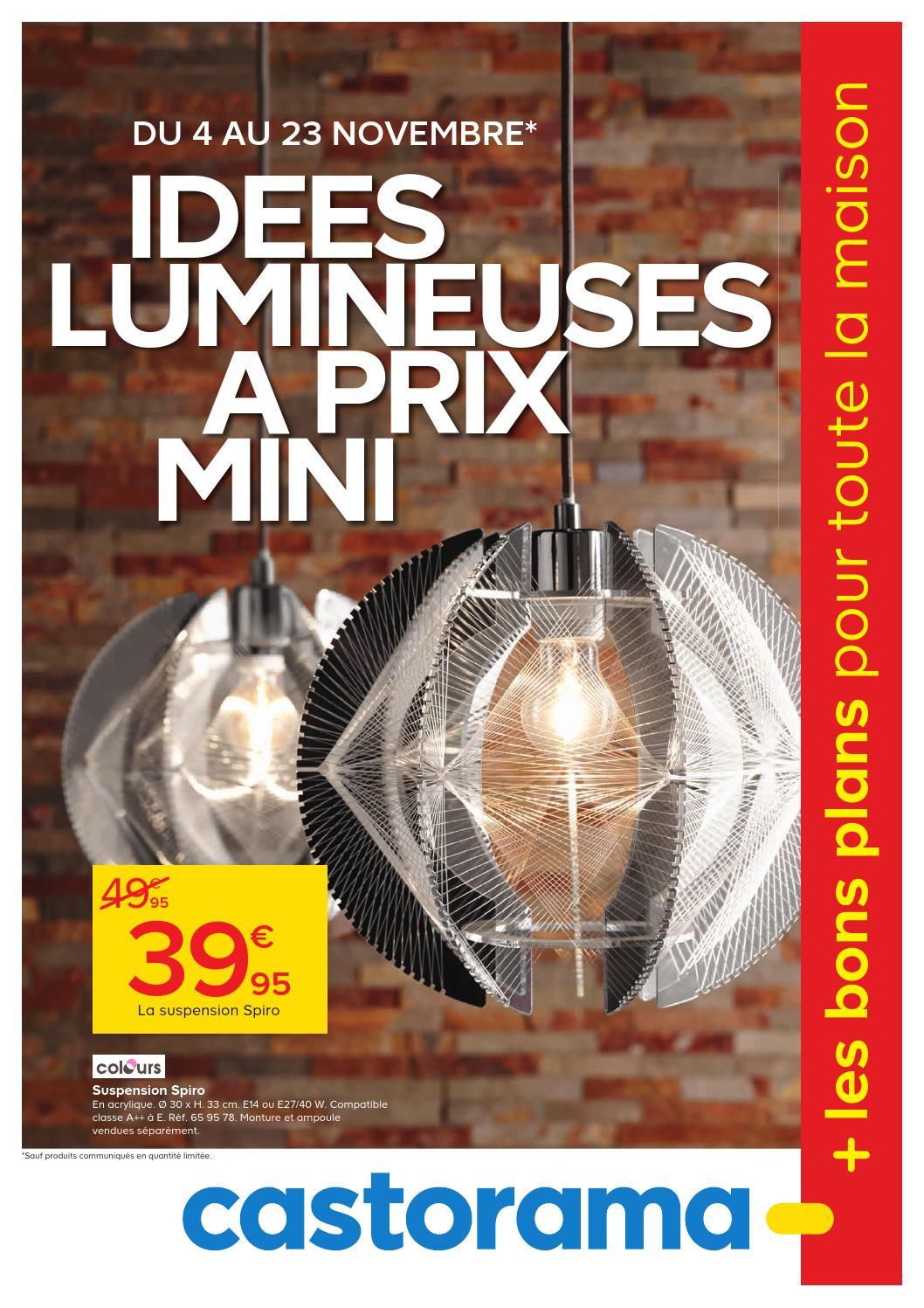 Castorama Catalogue 4 23novembre2015 By Promocatalogues Com Issuu