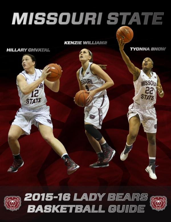 2015-16 Missouri State Women's Basketball Guide by ...