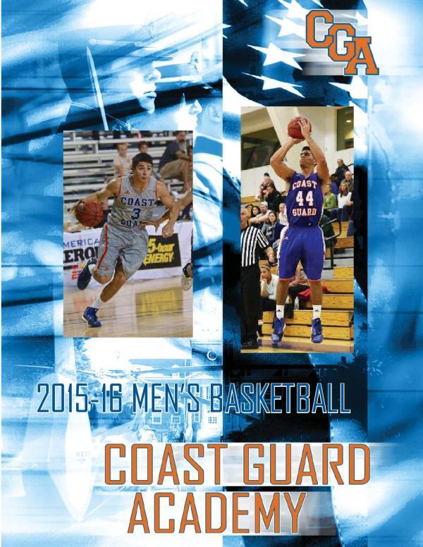 2015-16 Coast Guard Men's Basketball Guide by Coast Guard ...