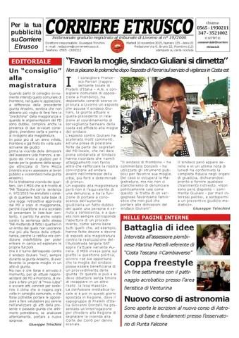 Corriere Etrusco n. 125