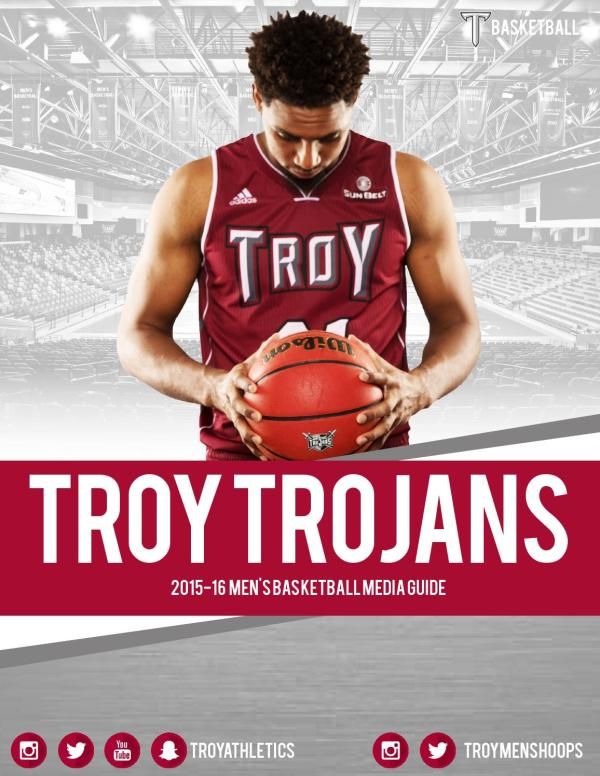 2015-16 Troy Men's Basketball Media Guide by Troy ...