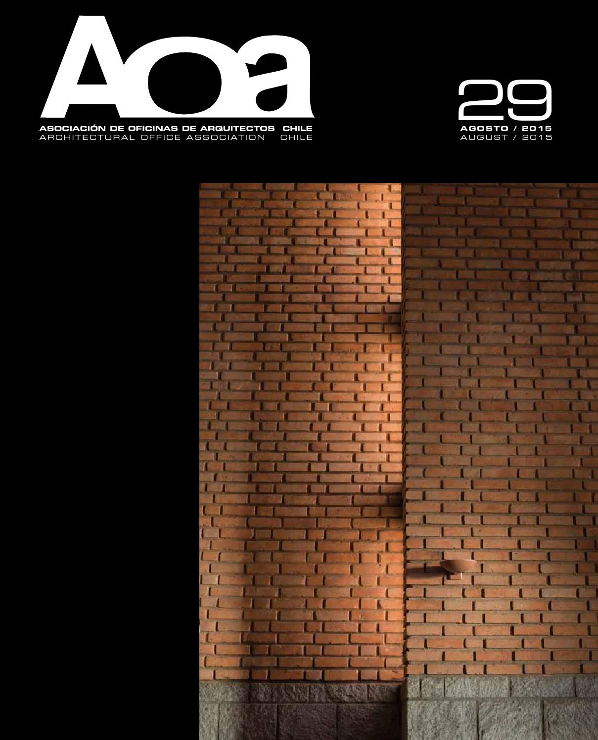Revista AOA N29 By Asociacin De Oficinas De Arquitectos