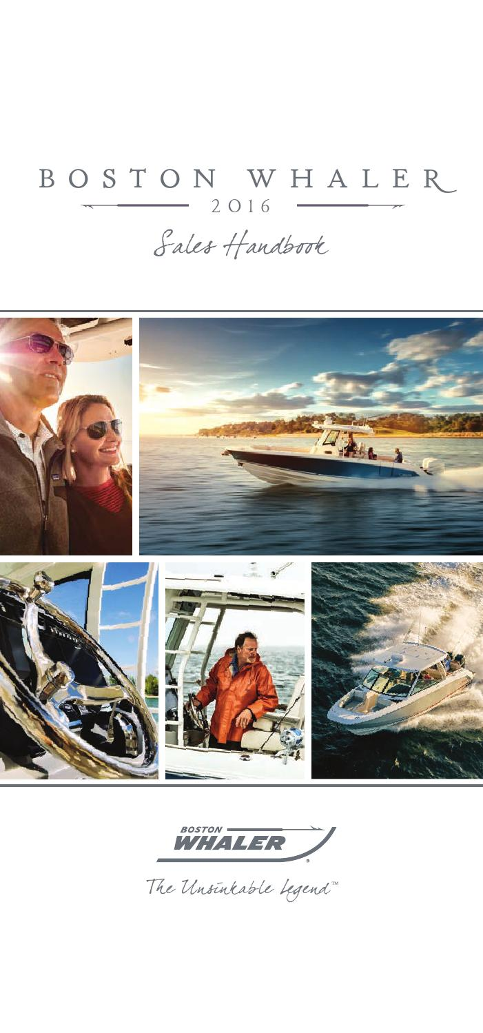 Boston Whaler 2016 Product Guide By Dino Marketing Group Issuu