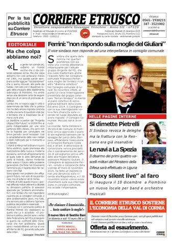 Corriere Etrusco n. 129