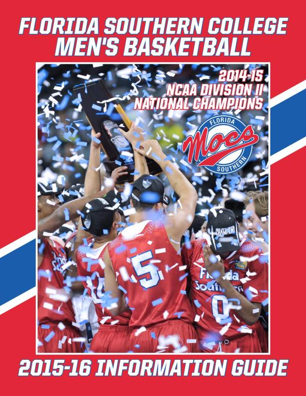 Men's Basketball 2015-16 by Florida Southern College ...