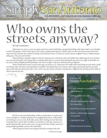 Simply San Antonio No 6 By Elm Grove Publishing Issuu