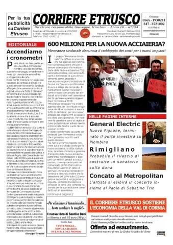 Corriere Etrusco n.134