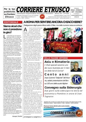 Corriere Etrusco n°138