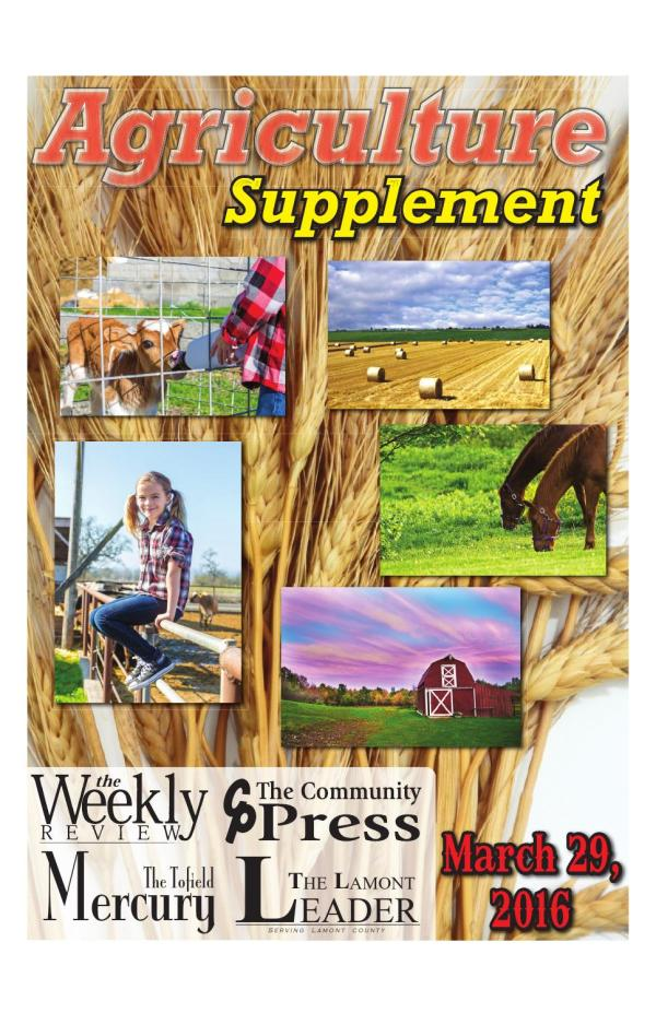 2016 Caribou Publishing Ag Supplement by Caribou - issuu