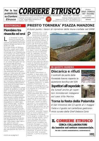 Corriere Etrusco n°143