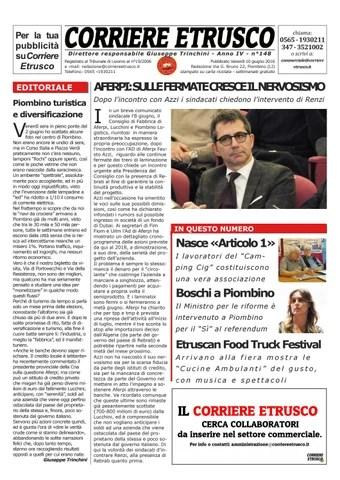 Corriere Etrusco n°148