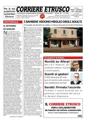 Corriere Etrusco n°149
