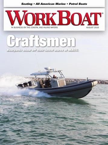 WorkBoat August 2016 By Running Insight Issuu