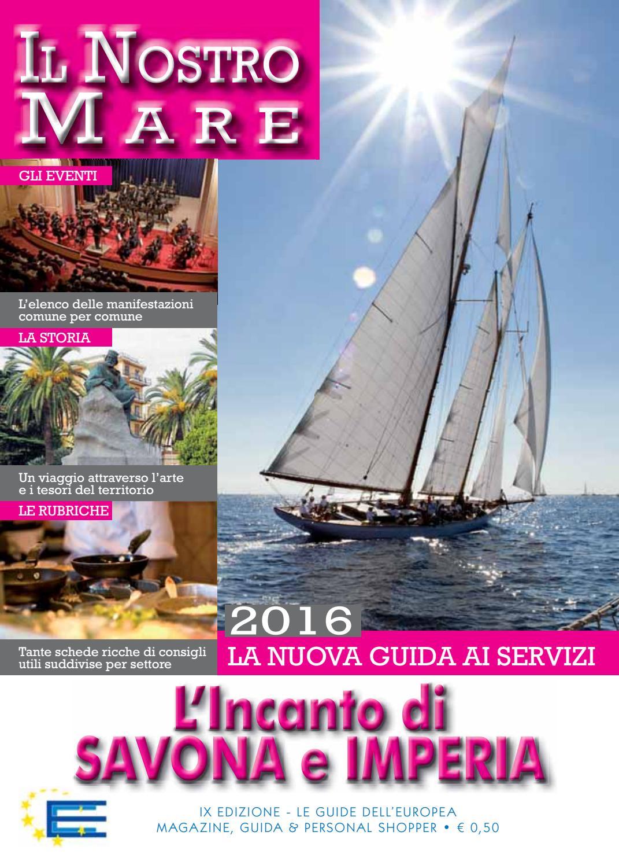 Savona E Imperia 2016 By Europea Editoriale Com Issuu