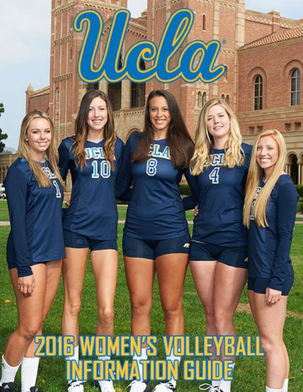 2016 UCLA Women's Volleyball Information Guide by UCLA ...