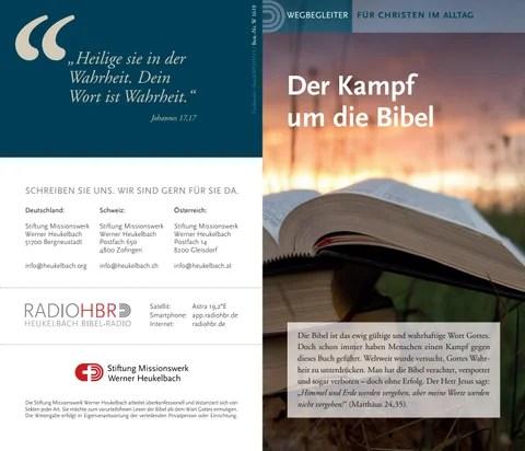 W1610 Der Kampf um die Bibel by Stiftung Heukelbach Issuu