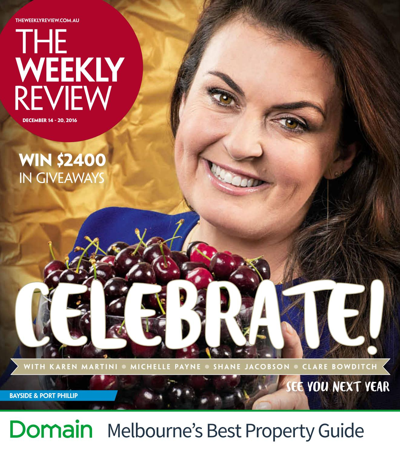 The Weekly Review Bayside & Port Phillip by The Weekly Review issuu