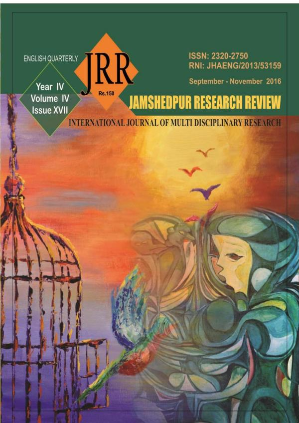 Jamshedpur research review issue 17 by Mithilesh Choubey ...