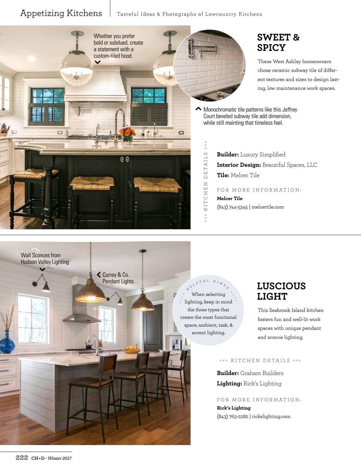charleston home design magazine winter 2017 by charleston home design magazine issuu