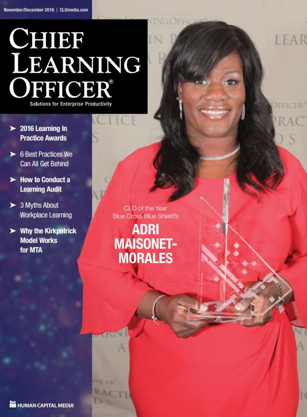 Chief Learning Officer - November/December 2016 by Chief ...