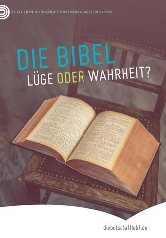 Die Bibel L252ge oder Wahrheit by Stiftung Heukelbach Issuu