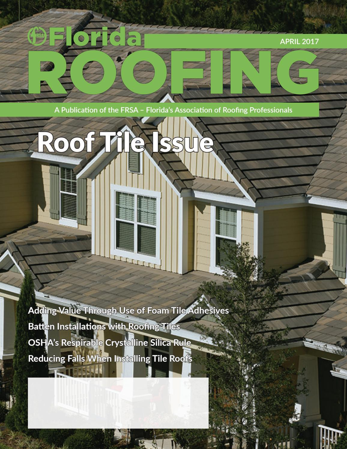 april 2017 by florida roofing magazine