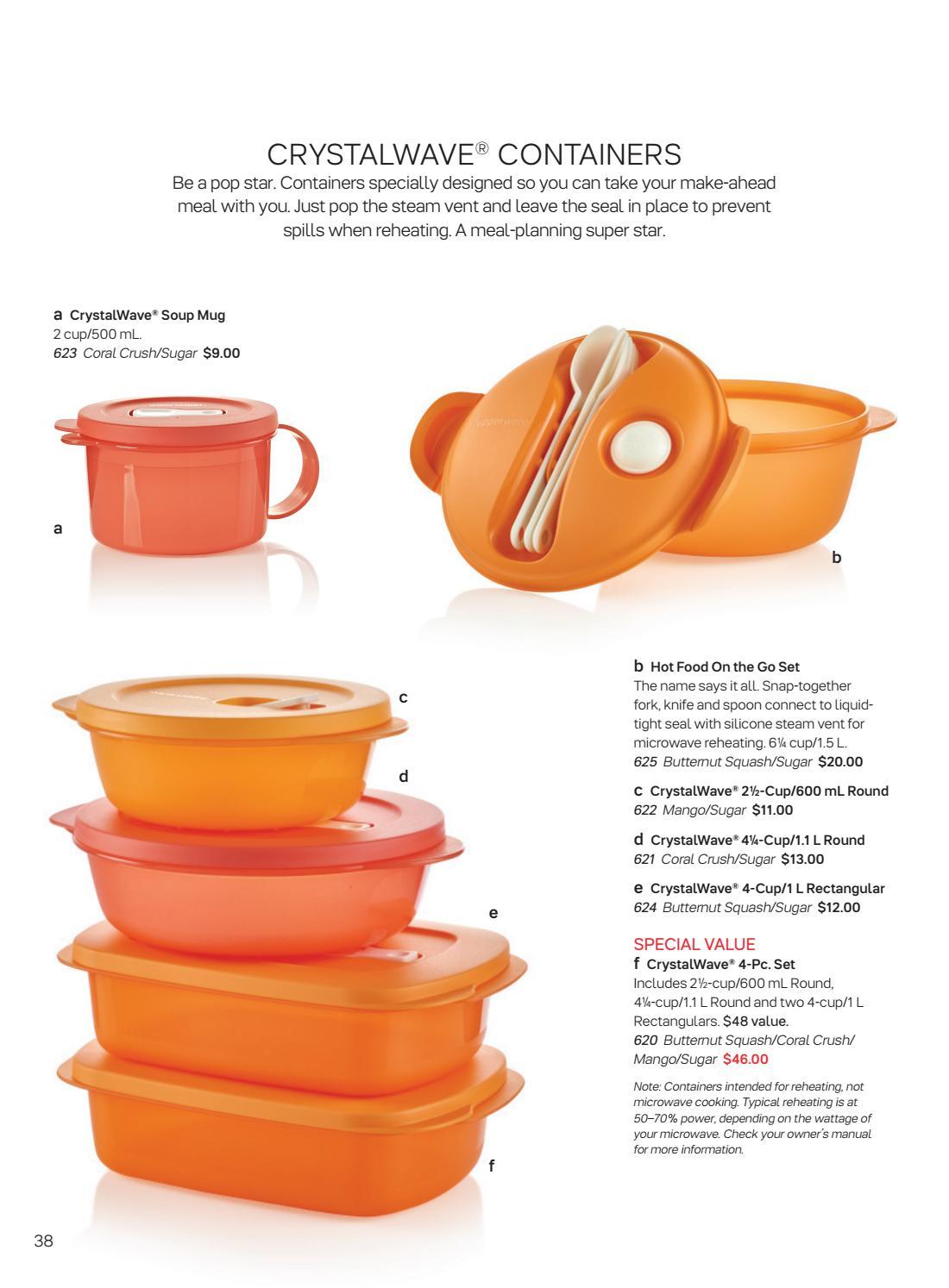 plastic containers tupperware round